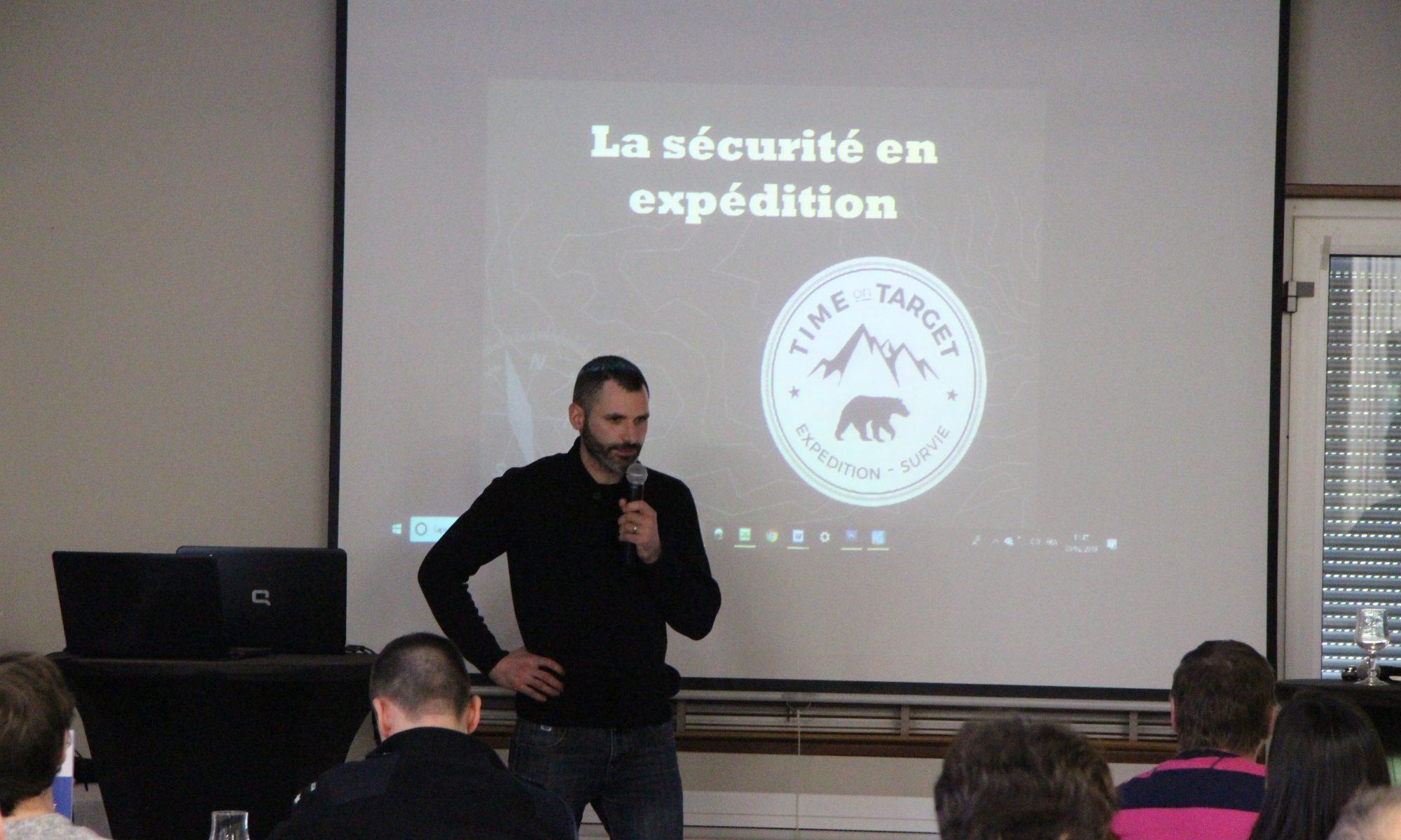 Damien Lecouvey conférencier d aventure survie entreprise