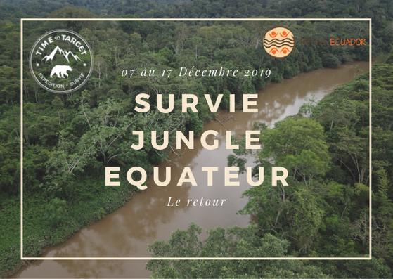 stage de survie jungle encadré par Damien Lecouvey